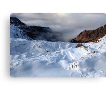 Winter on Kitzsteinhorn 78 Canvas Print