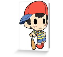 Super Smash Bros. / Earthbound - Ness Greeting Card
