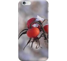 Red and white iPhone Case/Skin