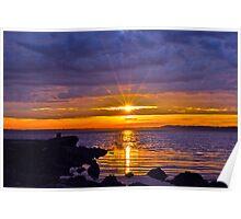 Morning on Tuggerah Lakes.no2 Poster