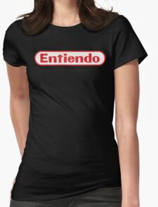 Entiendo Womens Fitted T-Shirt