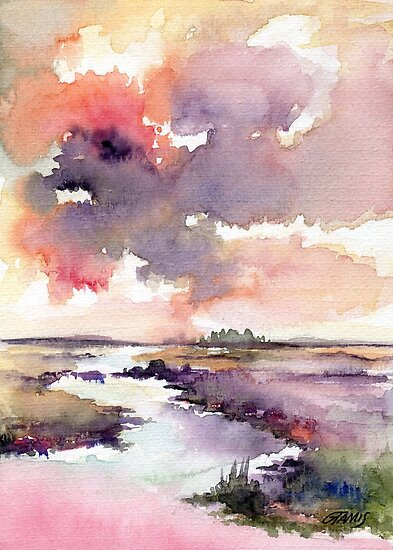 The Dutch Nature - in Aquarel by RainbowArt