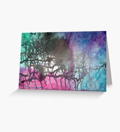 City Streaks Greeting Card