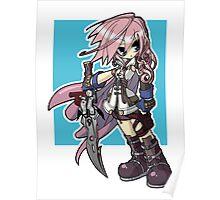 Final Fantasy XIII - Lightning Poster