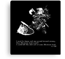 Favored Enemy Canvas Print