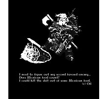 Favored Enemy Photographic Print