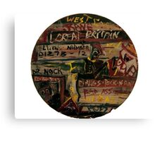 DRUGS AND ROCK N ROLL Canvas Print