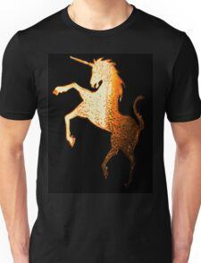 Golden Unicorn Tee Unisex T-Shirt