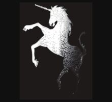 Silver Unicorn tee by Dawn B Davies-McIninch