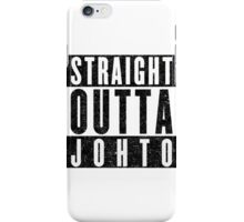 Trainer with Attitude: Johto iPhone Case/Skin