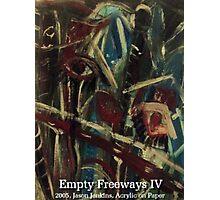 EMPTY FREEWAYS IV Photographic Print