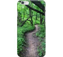 Twisting Forest Trail iPhone Case/Skin