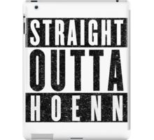 Trainer with Attitude: Hoenn iPad Case/Skin