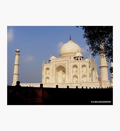 Taj Mahal - Agra - INDIA   Photographic Print