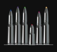 bullets crayons by 2piu2design
