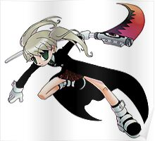 Soul Eater - Maka and Soul Poster
