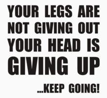 Keep Going by AmazingMart