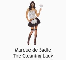 Marque De Sadie The Cleaning Lady by Platypusboy