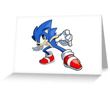 Sonic the Hedgehog - Sonic Greeting Card