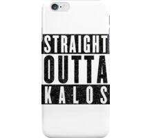 Trainer with Attitude: Kalos iPhone Case/Skin