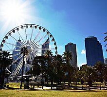Perth Ferris Wheel, Perth, Western Australia by AstridSimone