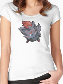 Pokemon - Zorua Women's Fitted Scoop T-Shirt