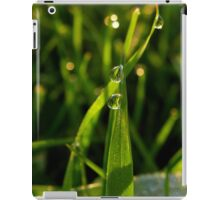 Morning drops iPad Case/Skin