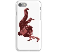 Judo Throw in Gi Red iPhone Case/Skin