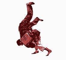 Judo Throw in Gi Red Unisex T-Shirt