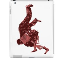 Judo Throw in Gi Red iPad Case/Skin