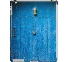 Vintage Blue Door in Southern France iPad Case/Skin