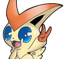 Pokemon - Victini by 57MEDIA