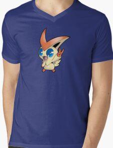 Pokemon - Victini Mens V-Neck T-Shirt