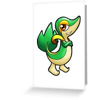 Pokemon - Snivy Greeting Card