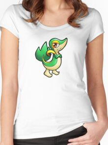 Pokemon - Snivy Women's Fitted Scoop T-Shirt