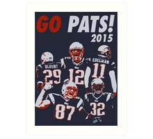 New England Patriots - 2015 Art Print