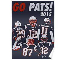 New England Patriots - 2015 Poster