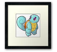 Pokemon - Squirtle Framed Print