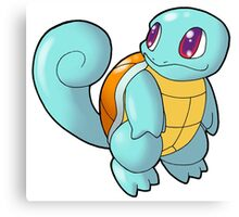 Pokemon - Squirtle Canvas Print