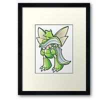 Pokemon - Scyther Framed Print