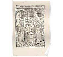 Opera Hrosvite, Illustrious virgin nun and genuine Albrecht Durer 1501 0017 Poster