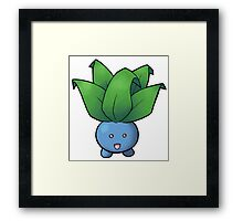 Pokemon - Oddish Framed Print