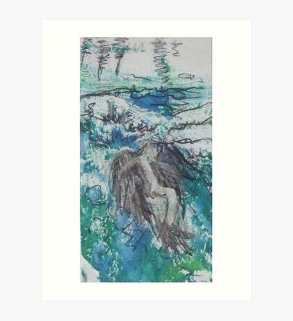 Icarus Art Print