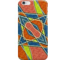 Diagonal Diamonds iPhone Case/Skin