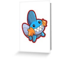 Pokemon - Mudkip Greeting Card