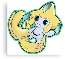 Pokemon - Jirachi Canvas Print