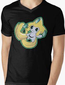 Pokemon - Jirachi Mens V-Neck T-Shirt