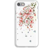 Flower Sprinkle Diamonds iPhone Case/Skin