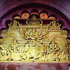 The goddess (deity) Maa Durga. by debjyotinayak