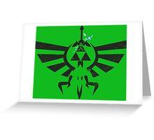 Legend of Zelda Greeting Card
